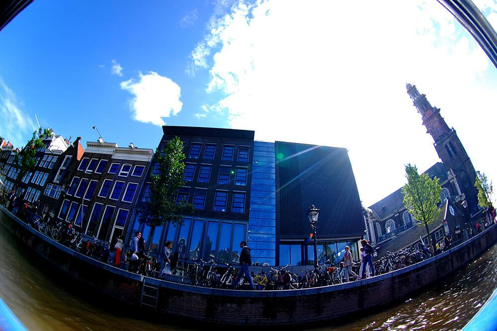 Дом-музей Анны Франк в Амстердаме