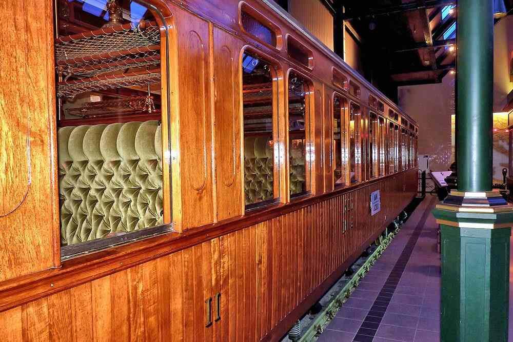 Музей поездов в Утрехте