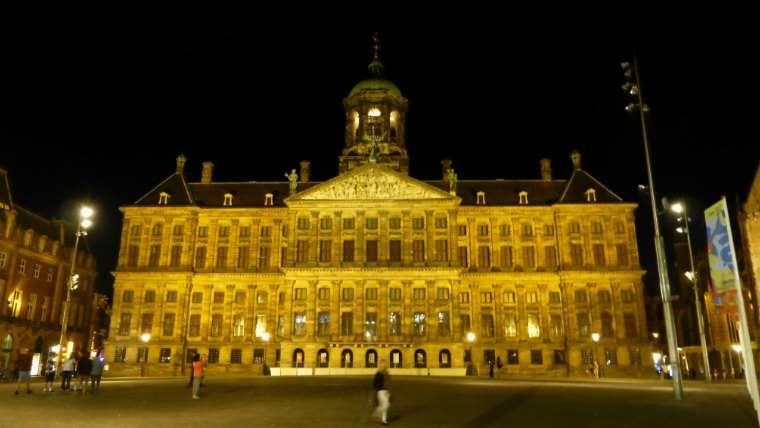 экскурсия по королевскому дворцу Амстердама
