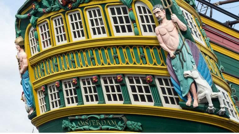 гид по музею кораблей Амстердам