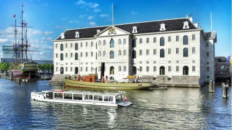 музей кораблестроения Амстердам