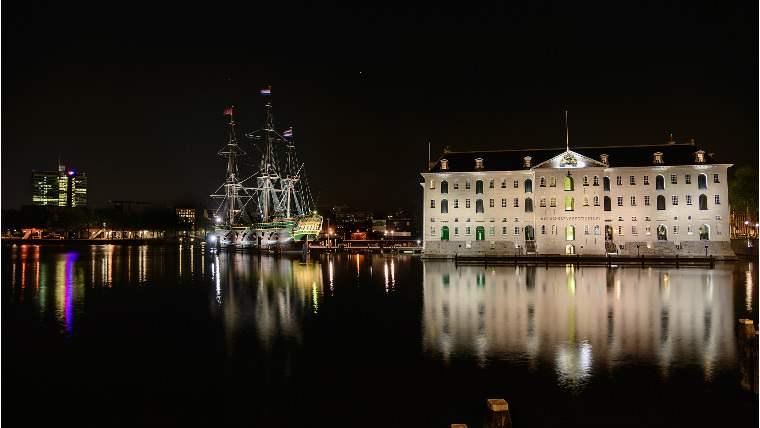 музей кораблей Амстердам