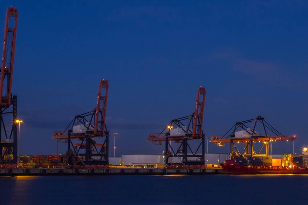 Порт Роттердама (портовая логистика)