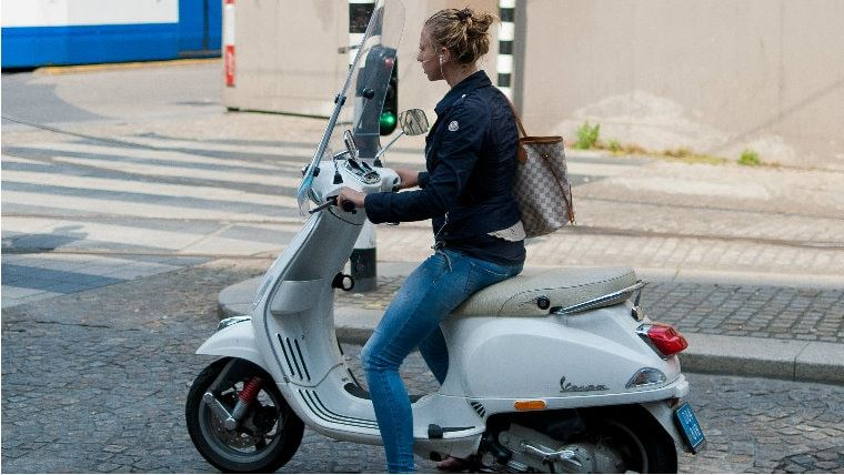 Квест на скутере по Амстердаму-2