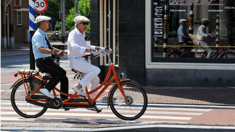 Квест по Амстердаму на велосипеде