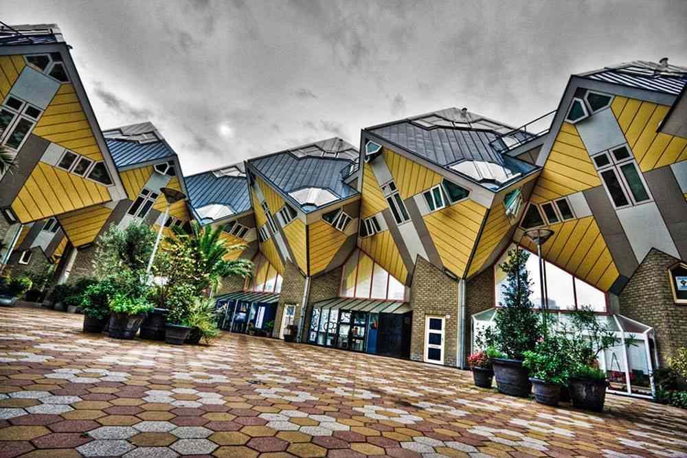 экскурсия Роттердам кубические дома
