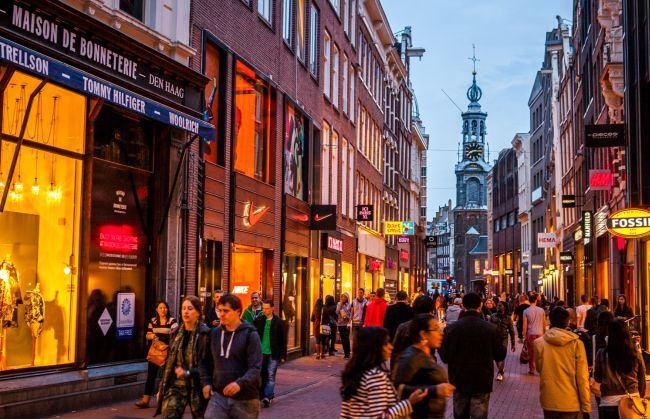 Шоппинг в Амстердаме