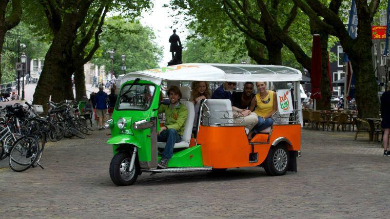 корпоративный тур Амстердам тук-тук