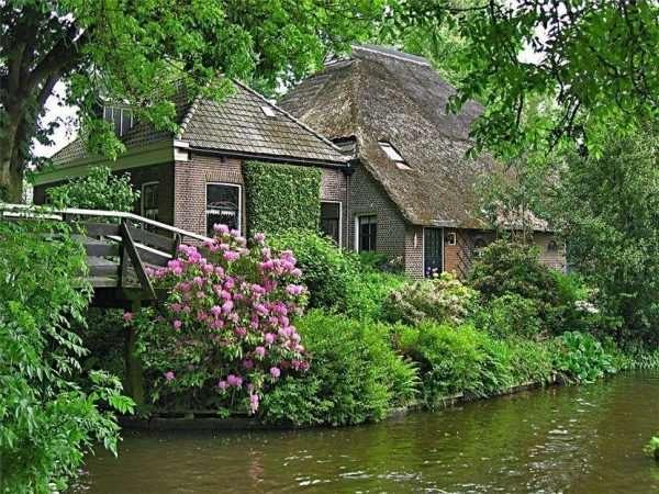 Гитхорн — деревня на воде