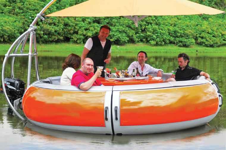 барбекю Амстердам экскурсия лодка