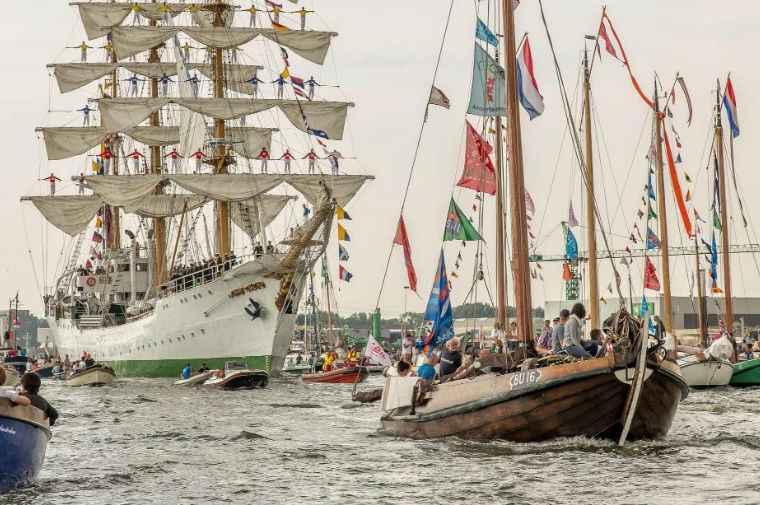 аренда парусника Амстердам Нидерланды программа корпоративного отдыха