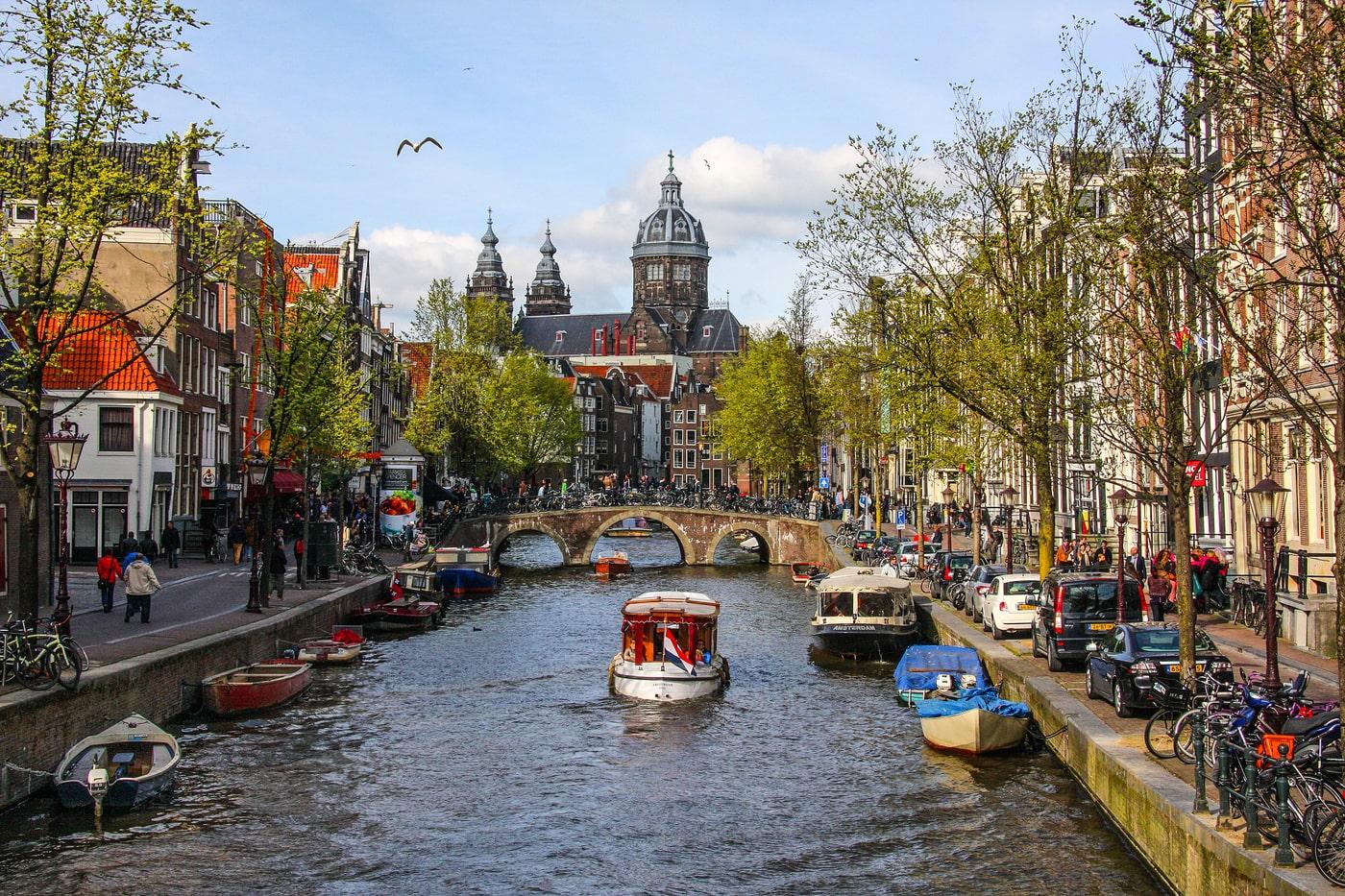 История каналов Амстердама
