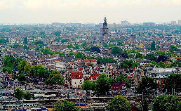 качели Lookout Амстердам