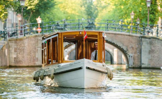 частный кораблик Амстердам