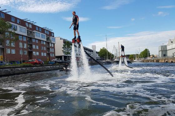 flyboard Амстердам