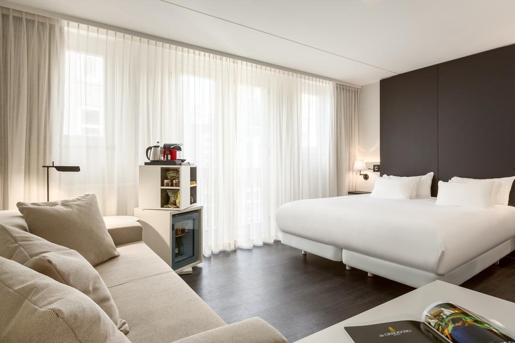 Отель Амстердам NH Barbizon Palace комната