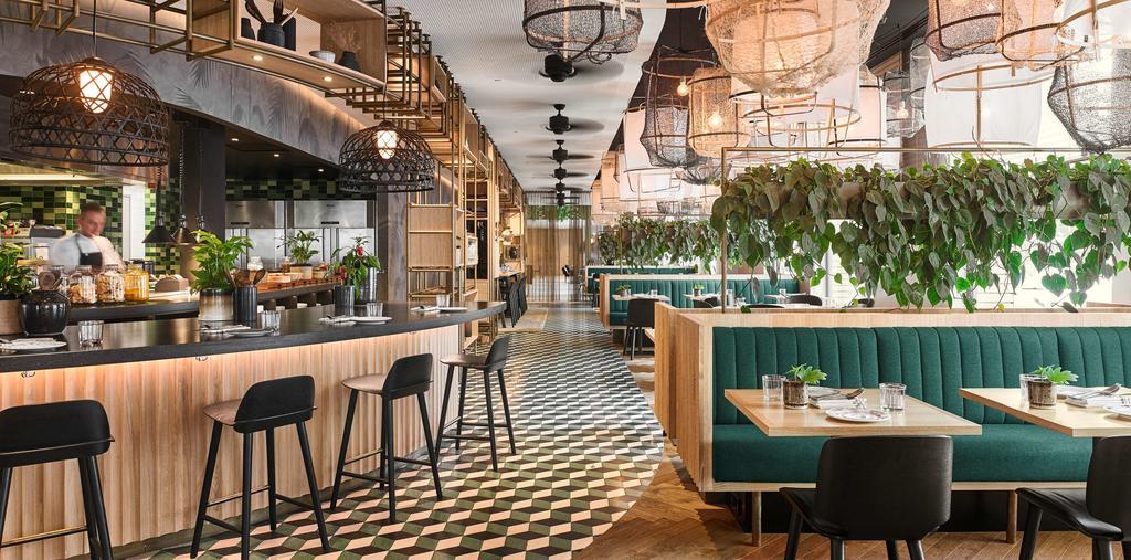 завтрак отель Амстердам Hyatt Regency