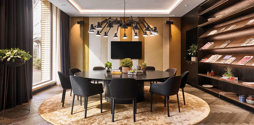 отель Hyatt Regency Амстердам комната для совещаний