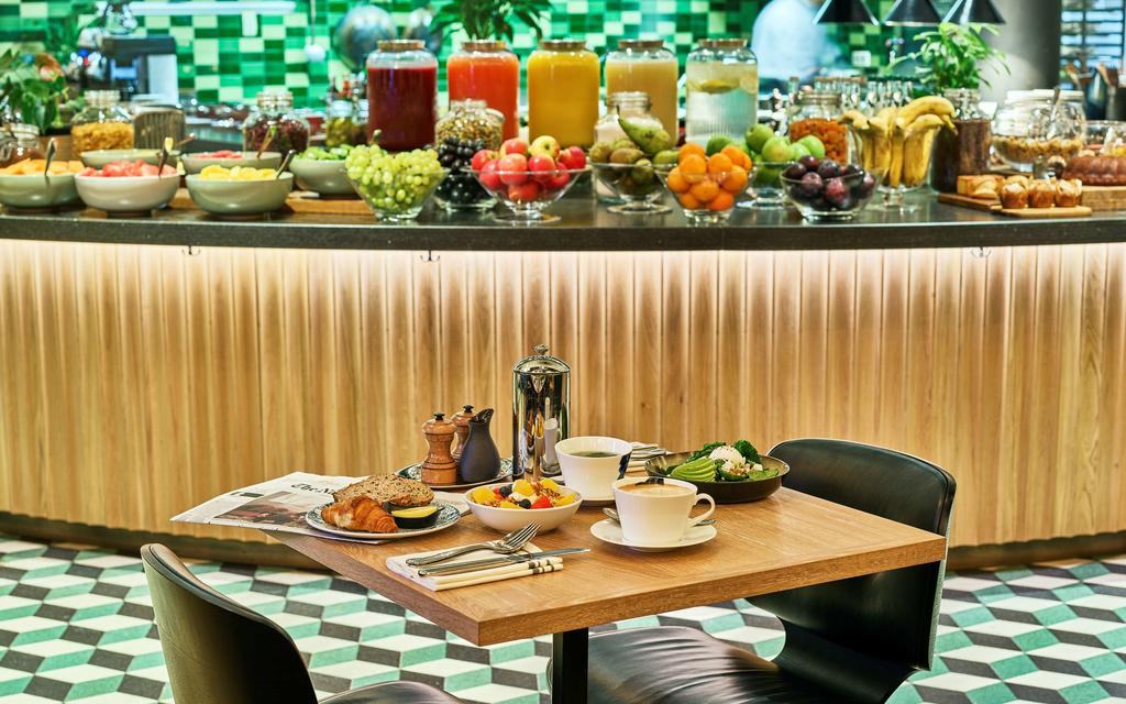 отель Амстердам Hyatt Regency завтрак