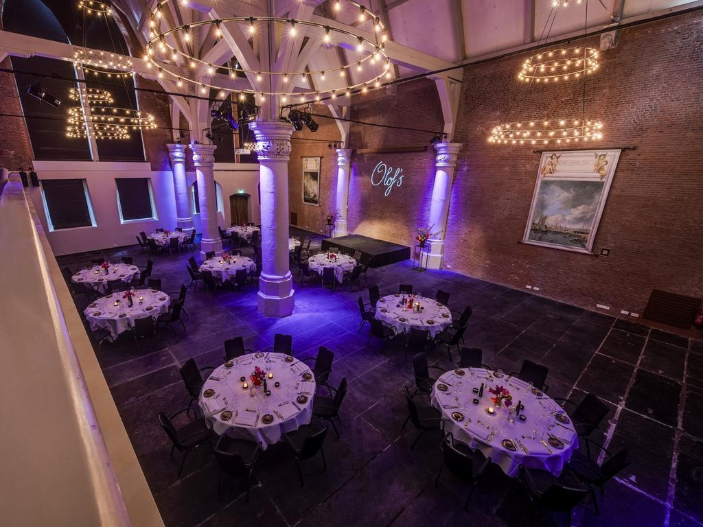 отель Амстердам NH Barbizon Palace ресторан