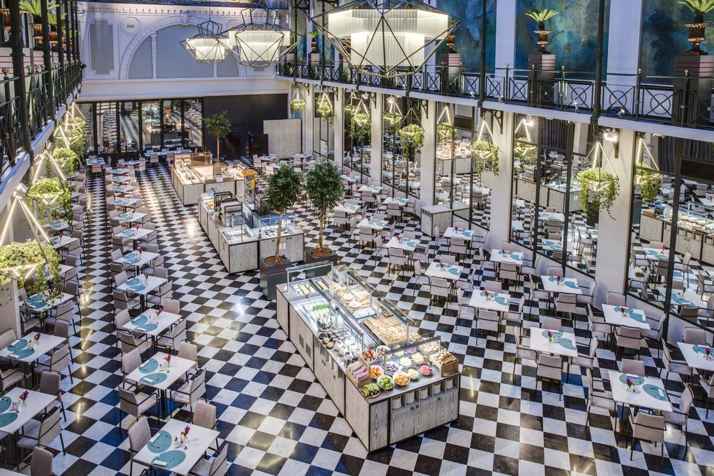 отель Krasnopolsky в Амстердаме завтрак