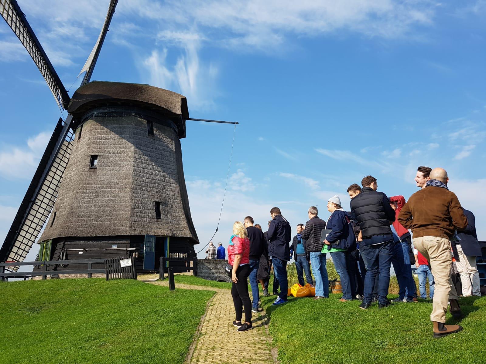 Корпоративный тур Нидерланды менеджеры ВТБ банка