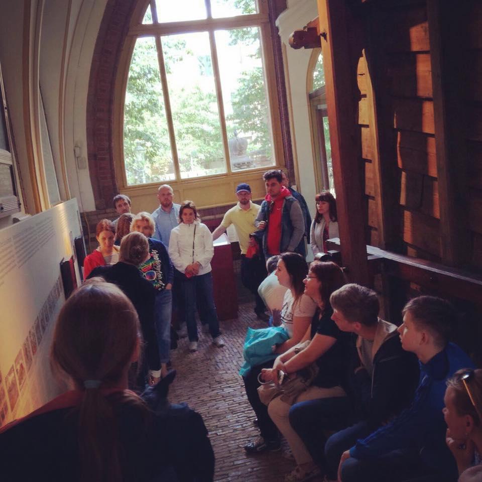 Развлекательная программа в Амстердаме (Нидерланды) для «Клуба Путешествинников» Михаила Кожухова
