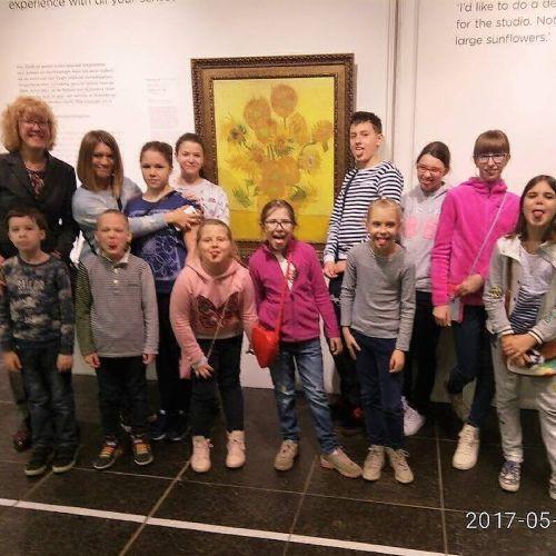 мастер-класс музей Ван Гога