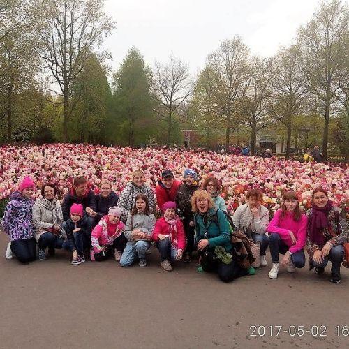 детский тур Нидерланды парк Кекенхоф