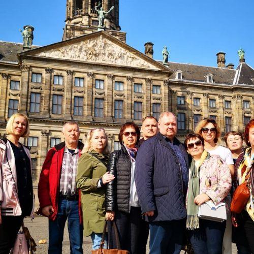 королеский дворей Амстердама