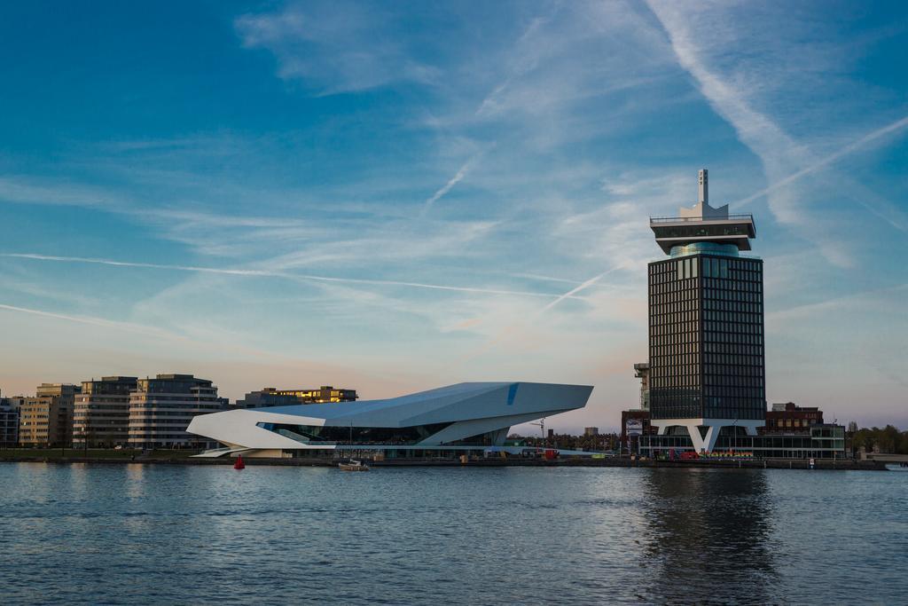 отель Амстердам Sir Adam снаружи здание