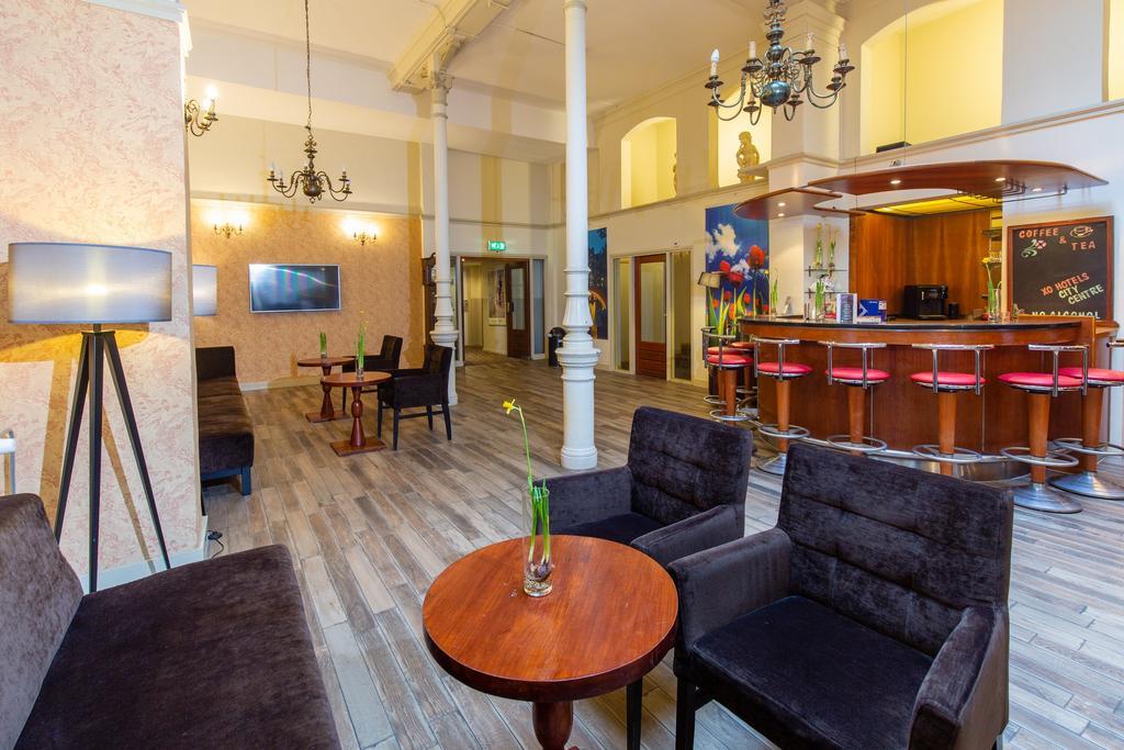 XO City Centre отель Амстердам лобби