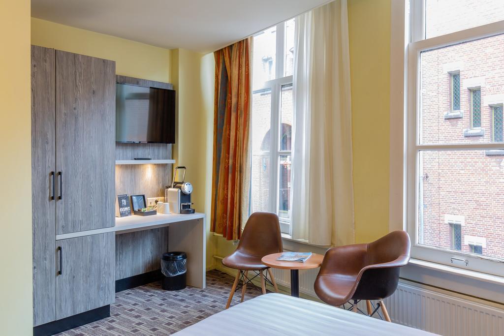 XO City Centre отель Амстердам комната