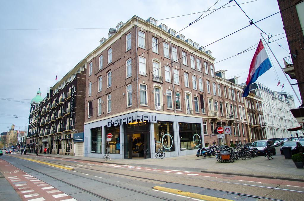 отель Cornelisz Амстердам снаружи