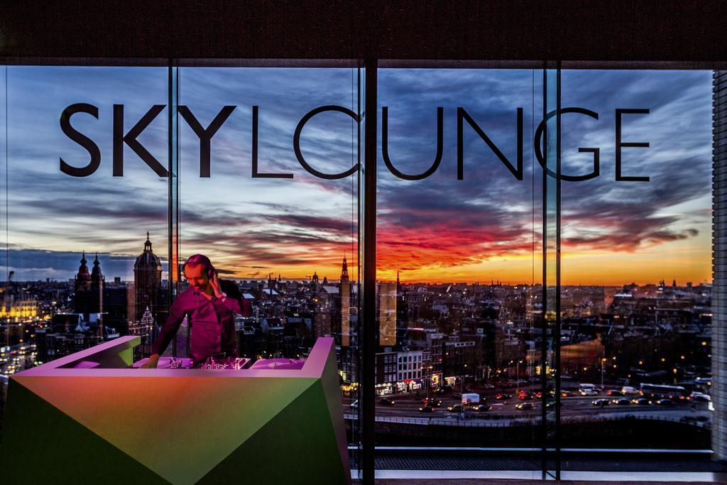 Sky Lounge Амстердам отель Double Tree by Hilton