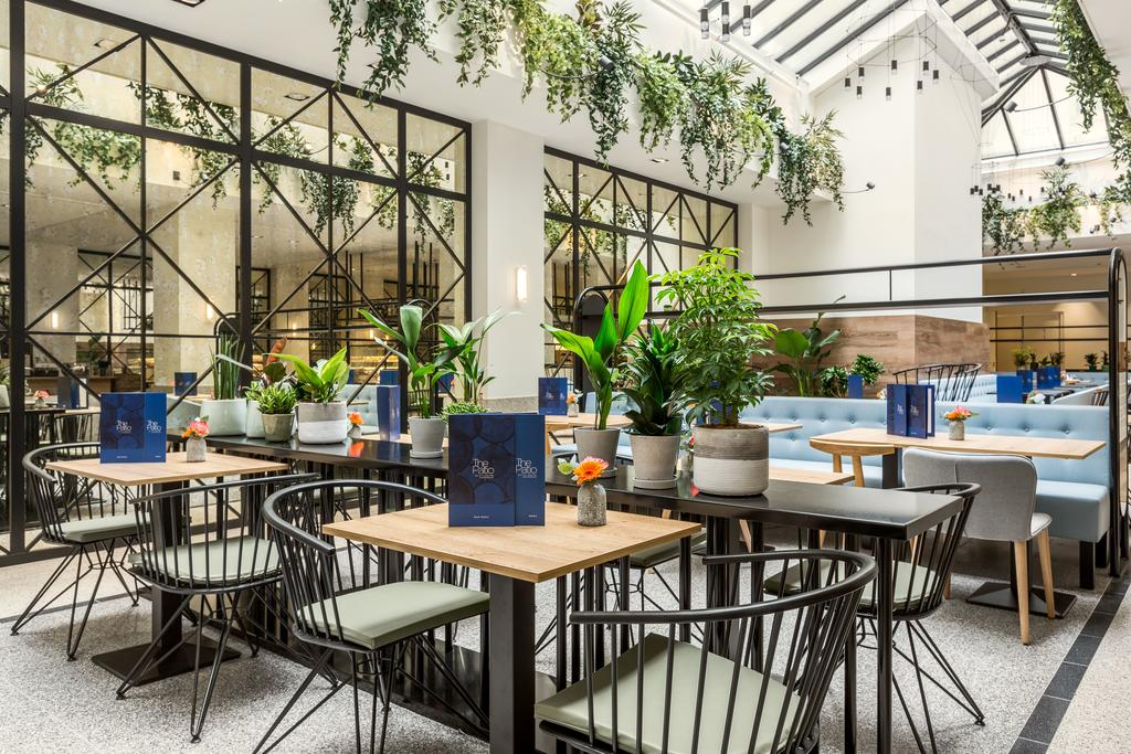 отель NH City Center Амстердам ресторан