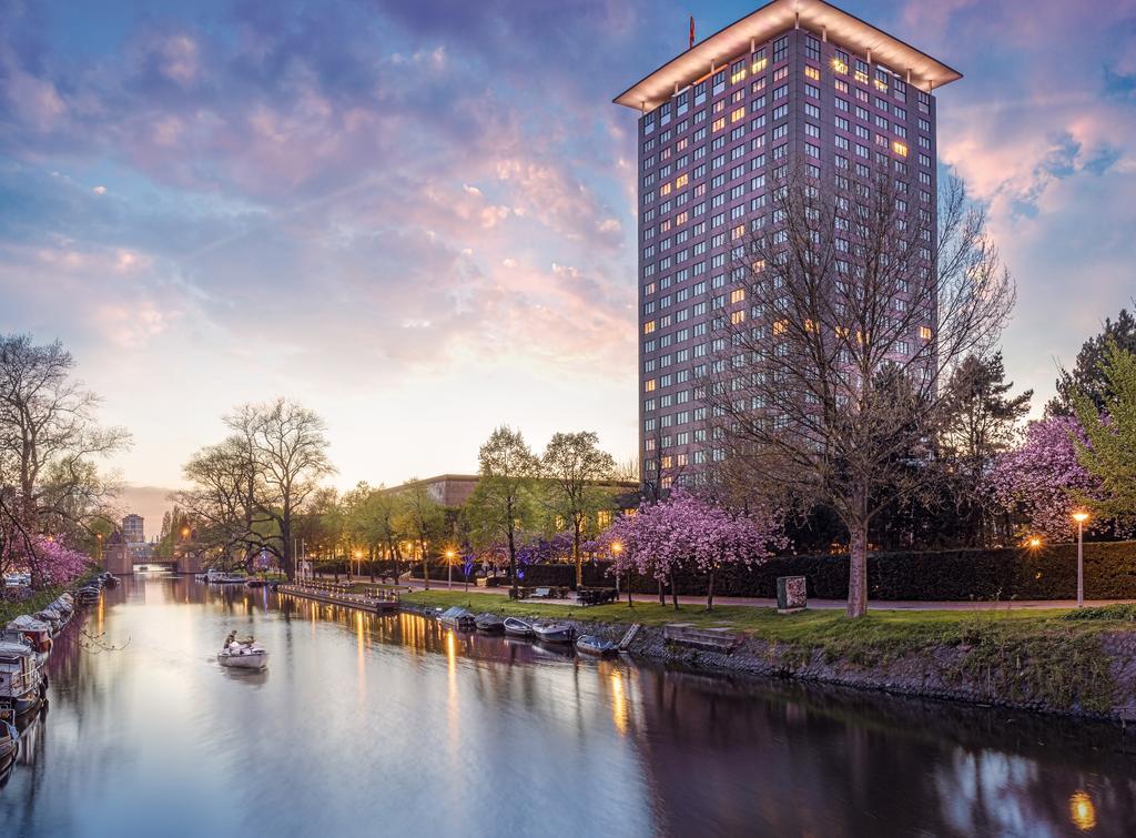 отель Okura Amsterdam снаружи