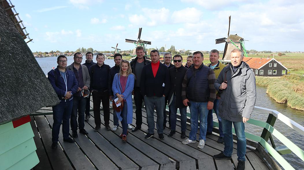 деловая поездка Нидерланды
