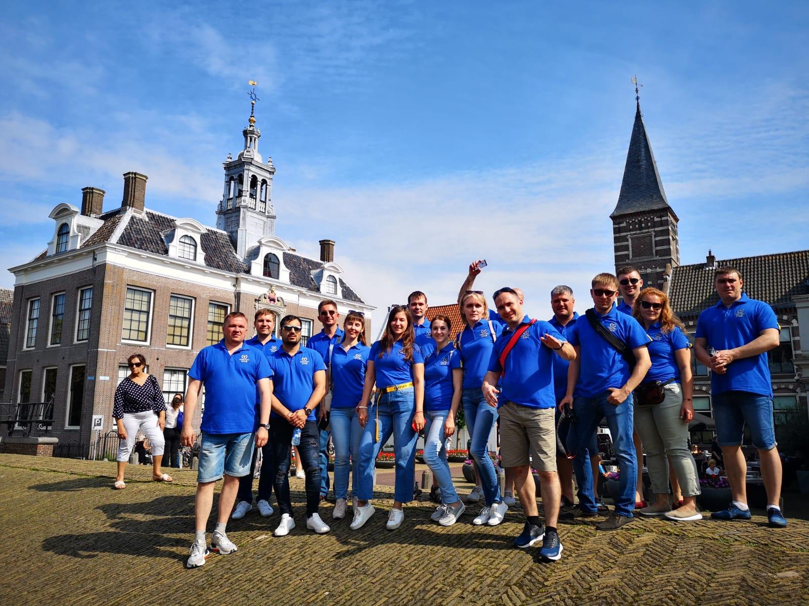 Копоративный тур Нидерланды Эртелеком