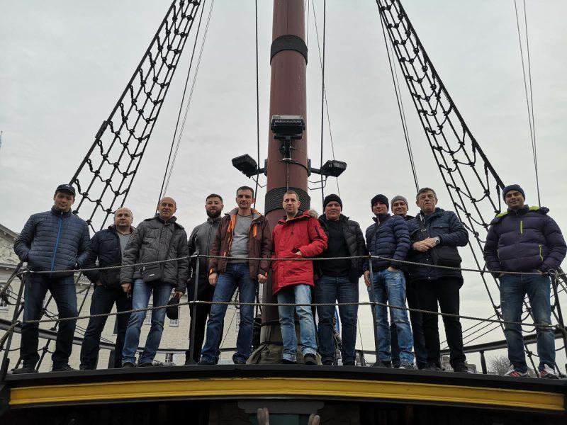 корпоративная поездка Нидерланды менеджеры компании Бош