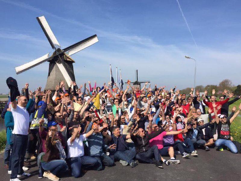 Деловая поездка в Амстердам компания «JOHNSON & JOHNSON»