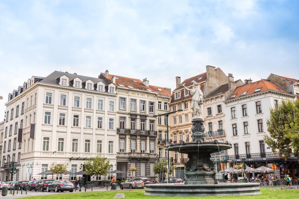 Pillows Grand Hotel Place Брюссель здание