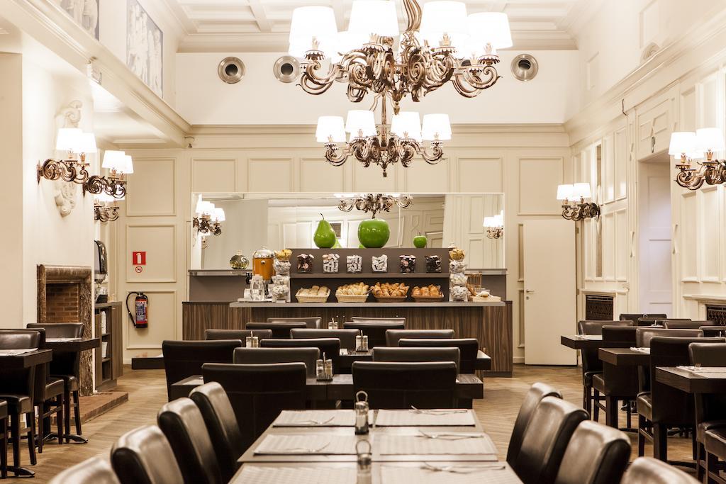 отель Брюссель Des Colonies завтрак