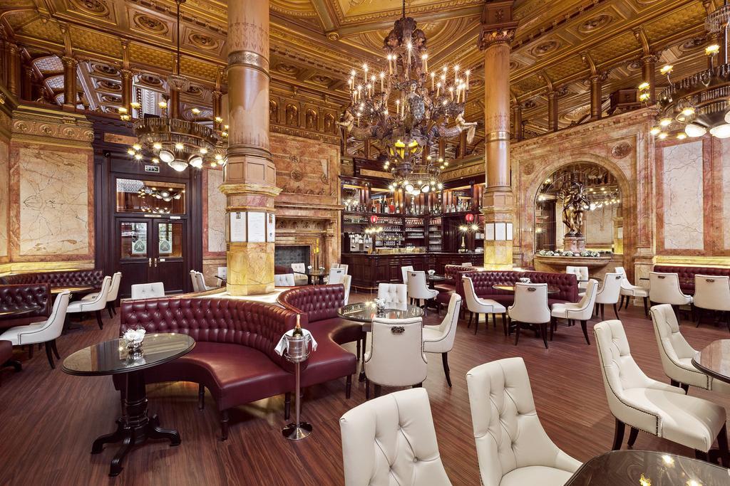 отель Metropole Брюссель лобби