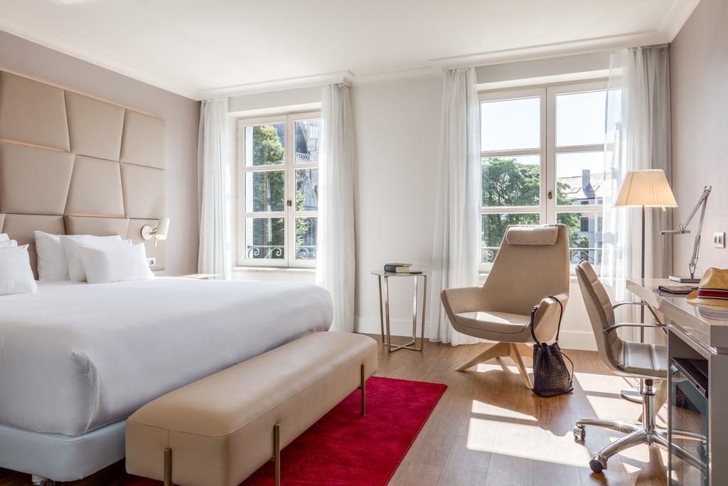 NH Grand Sablon отель Брюссель комната