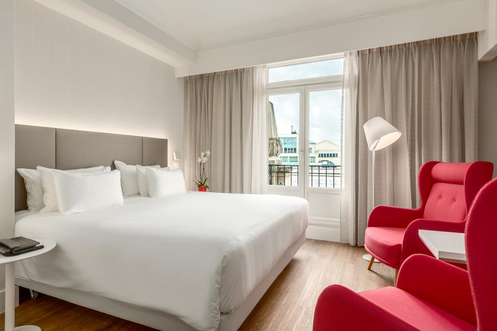 NH Brussel Centre отель Брюссель комната