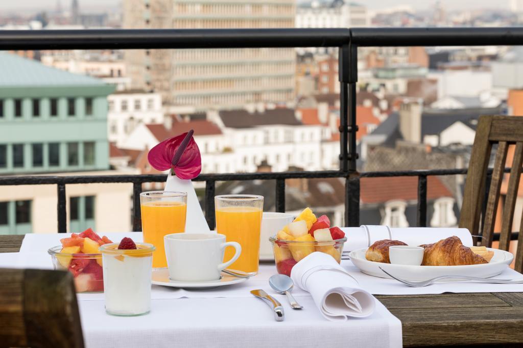 NH Brussel Centre отель Брюссель завтрак