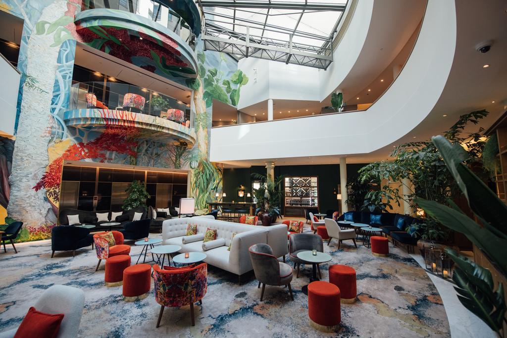 отель Sofitel Брюссель лобби