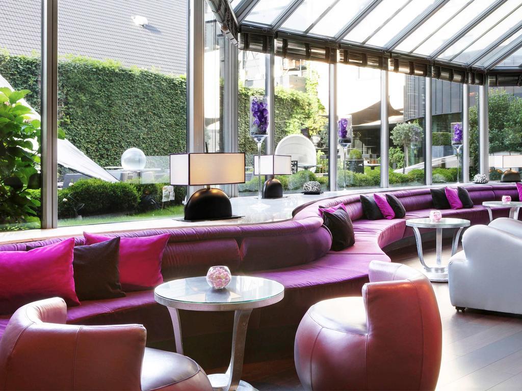 отель Sofitel Brussels Le Louise Брюссель лобби