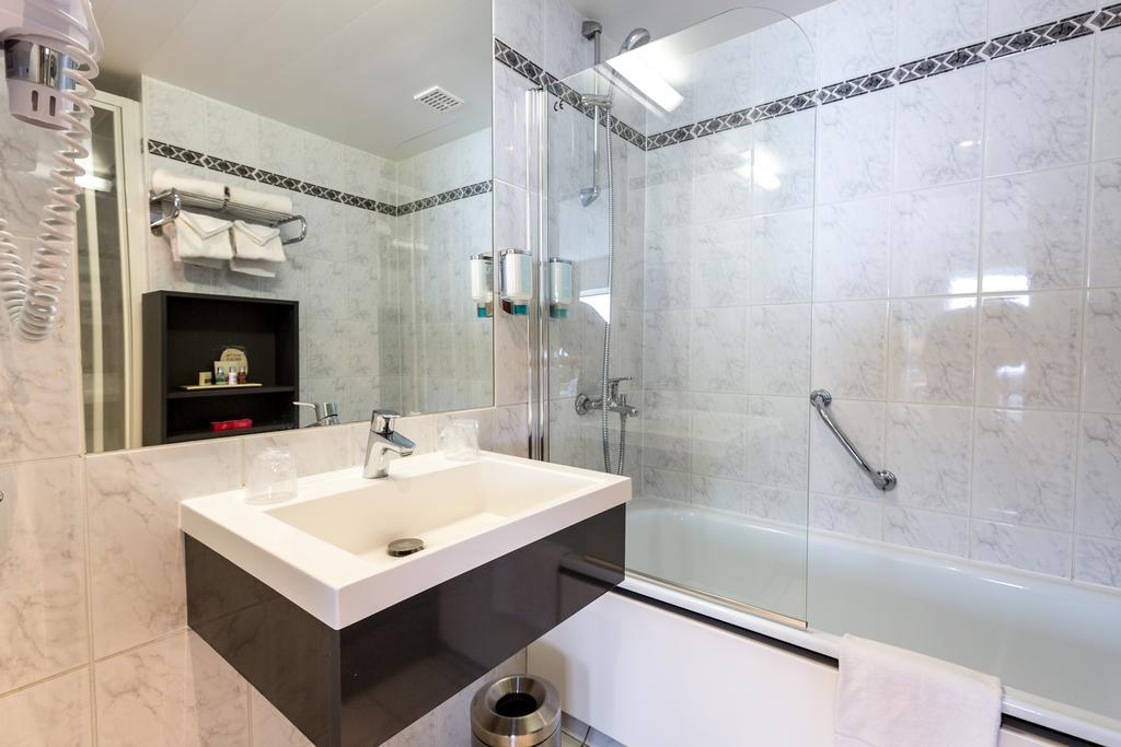 Thon Hotel Брюссель Бельгия ванная